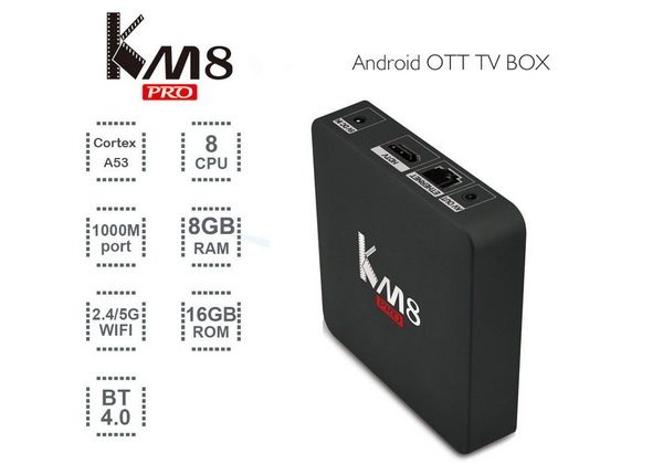 KM8 Pro TV Box Android 6.0 stock firmware Download