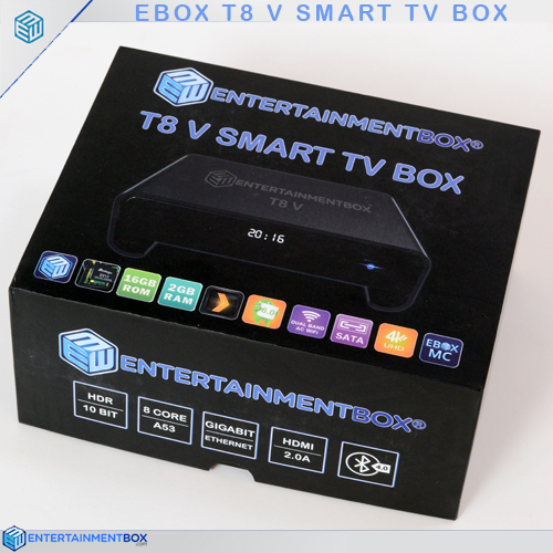 Tv Box Android Ranking Hisense Tv Red Light Wont Turn On Vu 32 Hd Smart Led Tv 32d6475 Make Pictures From Old Projector Slides: EBox T8 V TV Box, 2018 Android 7.1.2 Internet Streaming