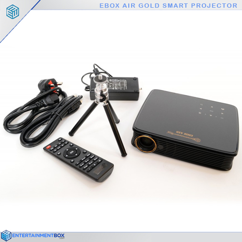 Ebox Air Gold projector on show