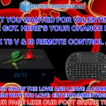 Share the love and win an EBox T8 V internet box with i8 Keyboard
