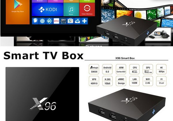 X96 TV Box Android Marshmallow 6.0 firmware Download