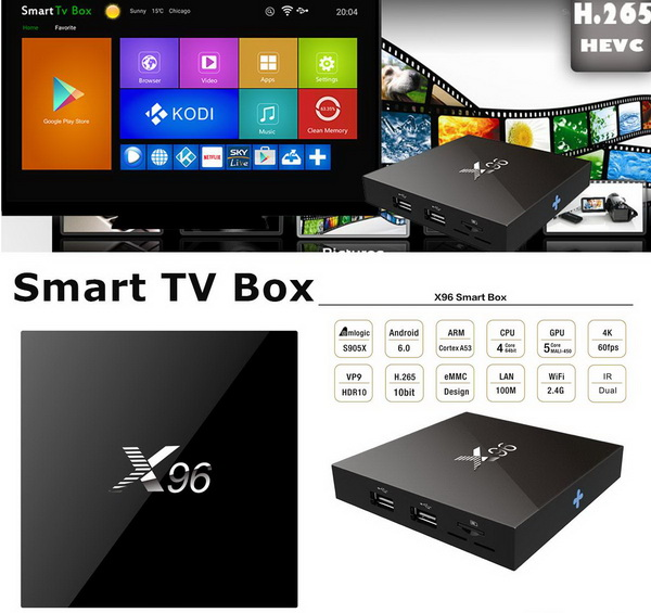 X96 TV Box Android Marshmallow 6 Firmware Download