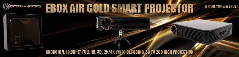 EBox Air Gold pocket projector