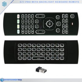 New s77 Plus pro remote