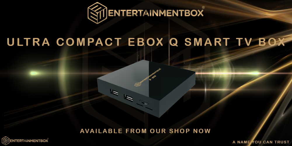 EBox Q TV box Shipped from the USA
