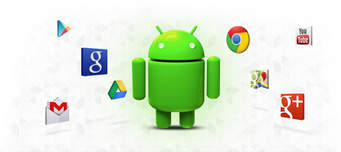 android man and google apps