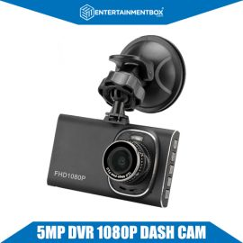 5MP Car DVR 1080p Full HD, 3 Inch TFT Display, Wide Angle Lens, 12MP Photos