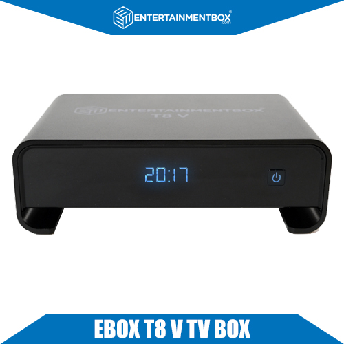 EBox T8 V TV box, 2018 Android 7.1.2 Internet Streaming Box! Version 5