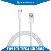 Type C to Type A USB cable Apple TV 4 Connecting cable Type C Female to USB 3.0 A Male Charge Sync Cable Type C White