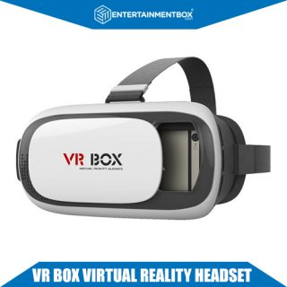 VR Box Virtual Reality Headset for Phones and Bluetooth Remote