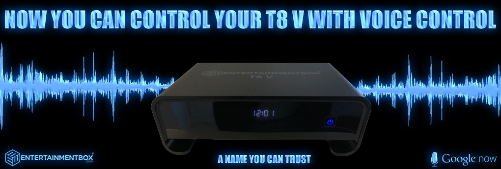 Voice activated TV Box