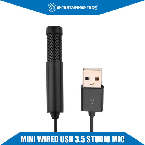 Mini USB microphone