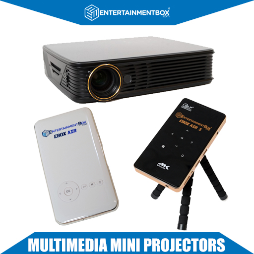 Multimedia Mini Pocket Projectors Powered By Android