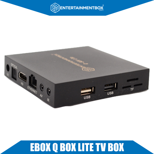 Ultra Compact EBox Q Lite Smart Kodi TV Box OTA Android 6.1, Shop UK USA