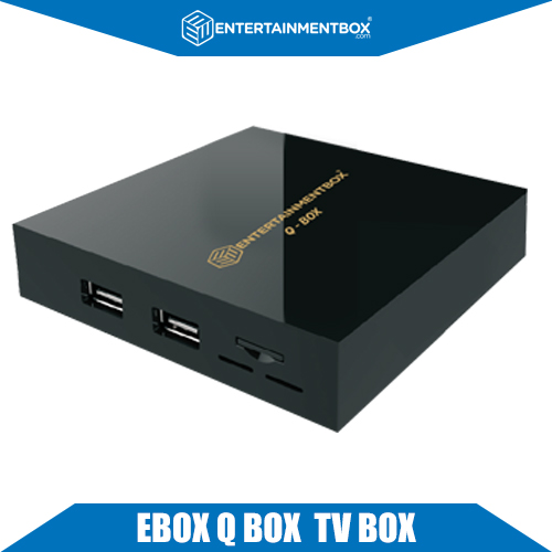 Ultra Compact EBox Q Smart Kodi TV Box OTA Upgraded MXQ 4K Box Android 6.1