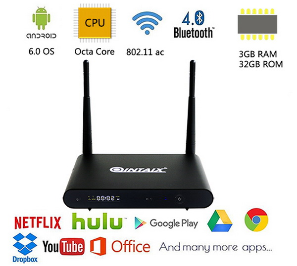 Latest Qintex Q912 TV Box Firmware Download Android 7.1.2