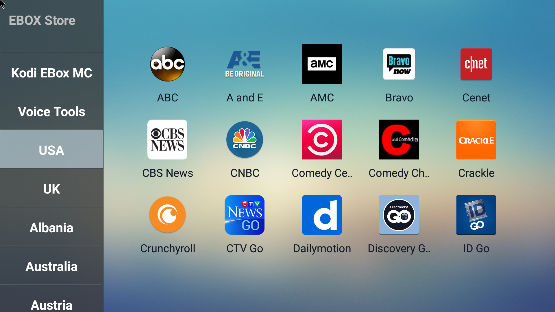 EBox Store USA apps