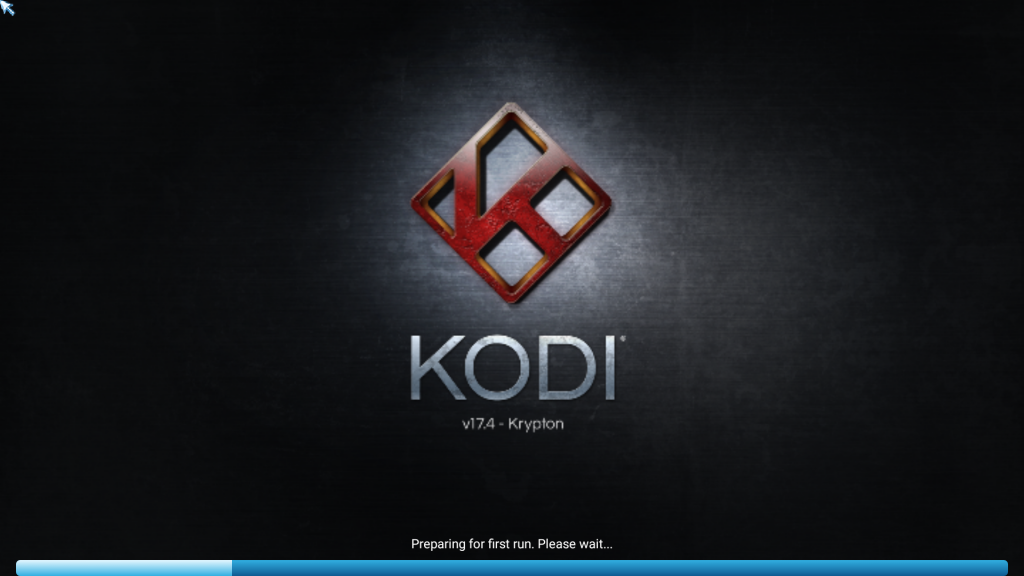 Step 7 Congratulations! Kodi 17.4 Krypton is now running on Android