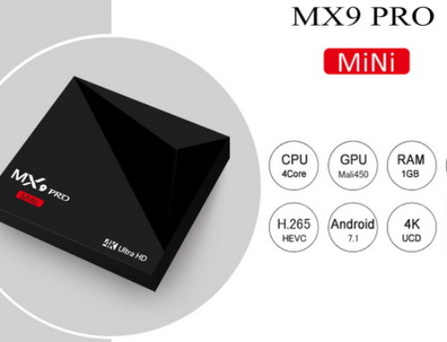 Latest MX9 Pro TV Box Firmware Download Android Nougat 7.1.2