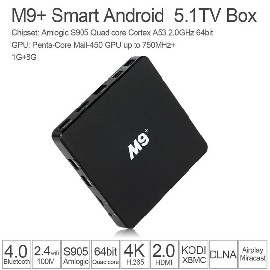 Latest M9 Plus TV Box Firmware Download Android Lollipop 5.1.1