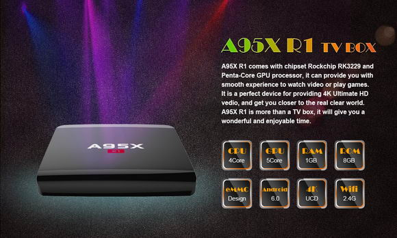 Latest A95X R1 TV Box Firmware Download Android Lollipop 5.1.1