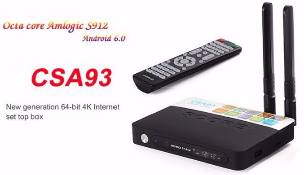 CSA93 TV Box Firmware Download Android 6.0