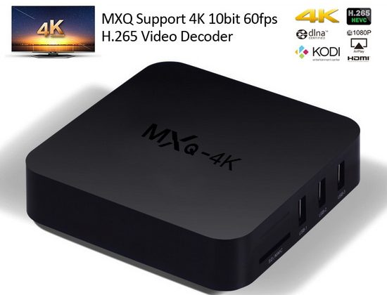 Latest MXQ 4K TV Box Firmware Download Android KitKat 4.4.4