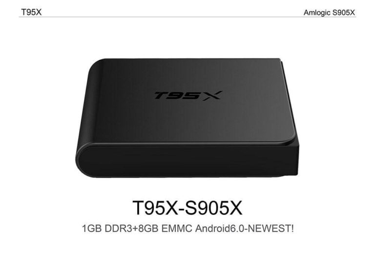 Latest T95X TV Box Firmware Download Android Marshmallow 6 0