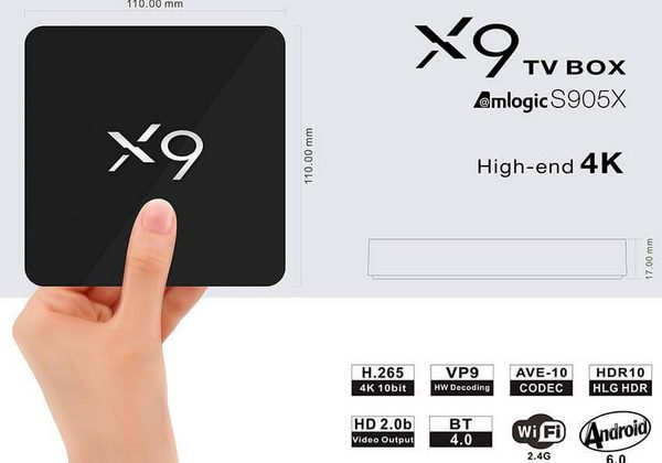 Latest X9 TV Box Firmware Download Android Marshmallow 6.0