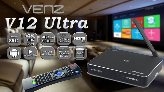 Venz V12 Ultra TV Box