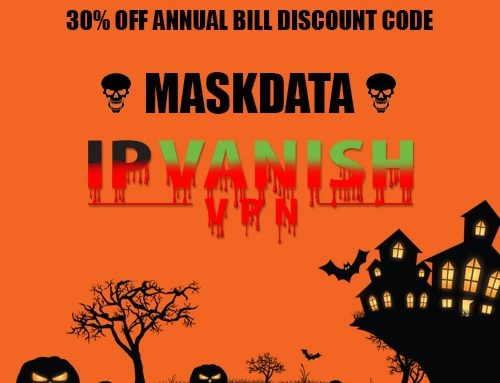 Happy Halloween 2017 Get 30% OFF IPVanish VPN