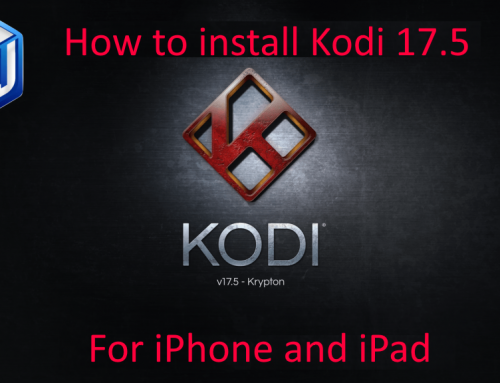 HOW-TO: Install Kodi 17.5 update for iPhone and iPad