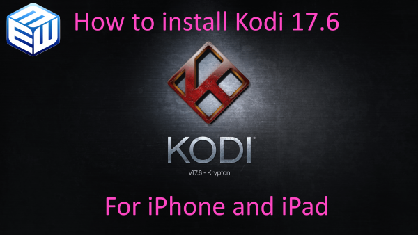 Kodi 17.6 Splash iPhone iPad