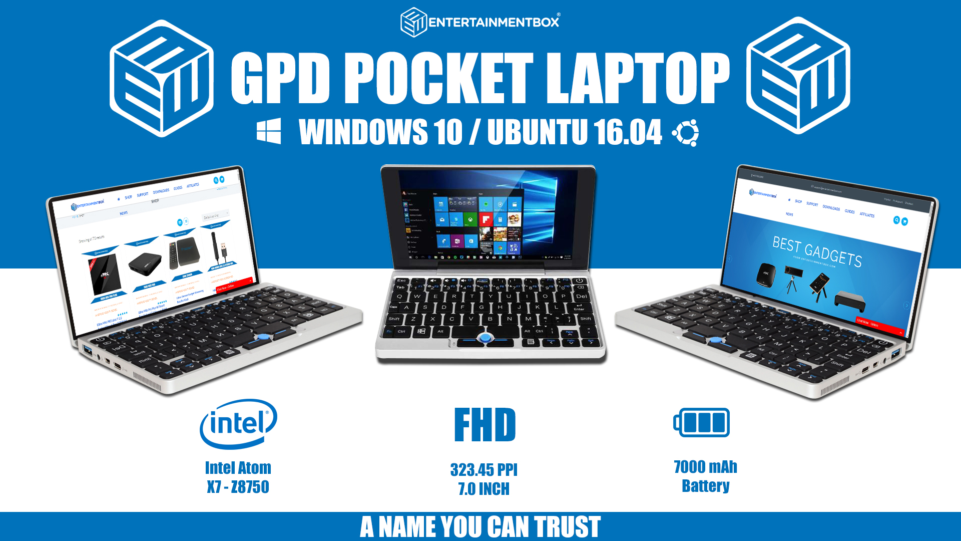 New GPD Pocket 2018