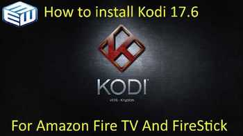Update Kodi 17.6 Amazon
