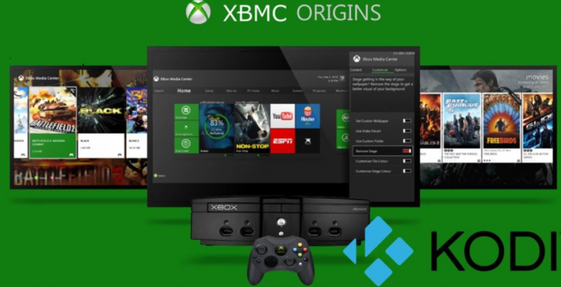 Kodi 18 on the Xbox One
