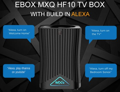 Review: MXQ HF10 Smart Speaker TV box Alexa powered Android Speaker