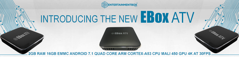 EBox ATV Android 7.1.2 Voice Controlled Android TV