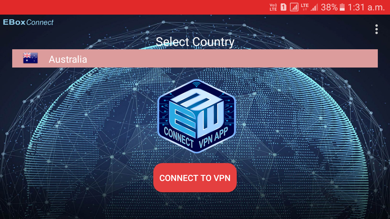 Sign up VPN