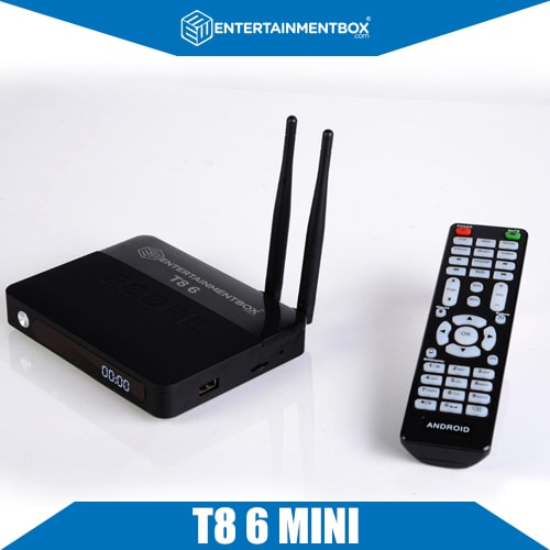 EBox T8 6 Mini With Remote