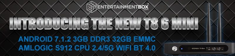 Introducing The T8 6 TV box