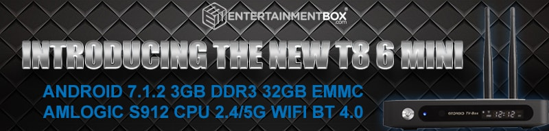 Introducing the T8 6 Mini TV box