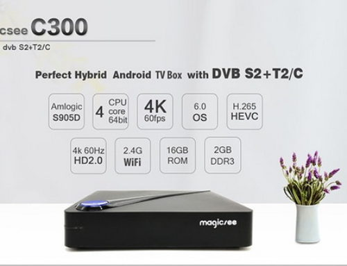 Latest Magicsee C300 TV Box Firmware Download Android Nougat 7.1.2