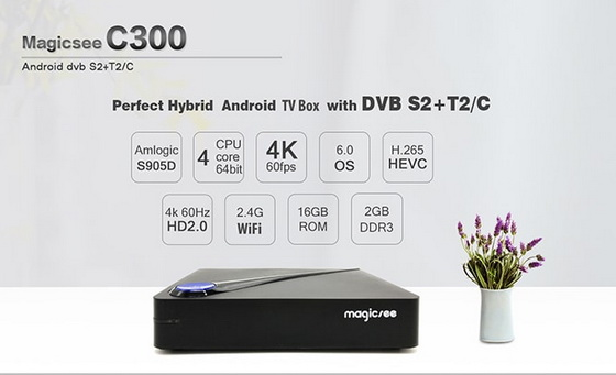 Magicsee C300 TV Box