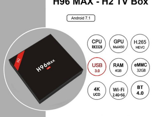 Latest H96 Max – H2 TV Box Firmware Download Nougat 7.1.2