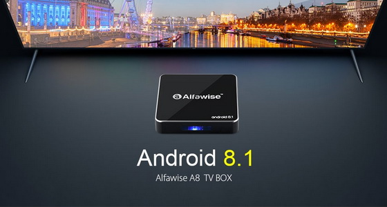 Latest Alfawise A8 TV Box Firmware Download Android 8 1
