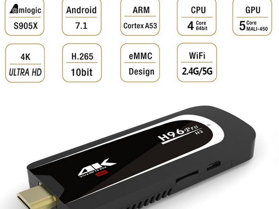 H96 Pro H3 TV Dongle