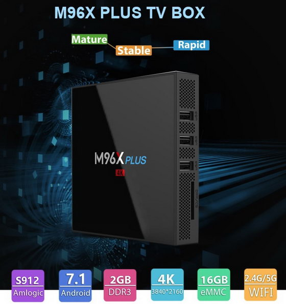 M96X Plus TV Box