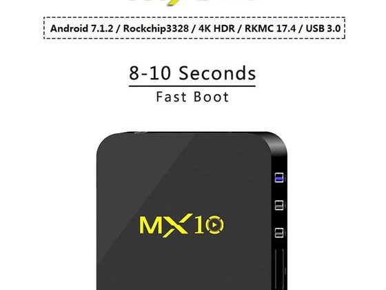 MX10 Android 8