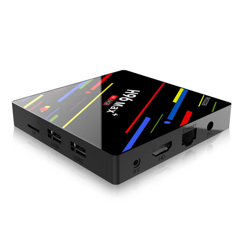 H96 Max + TV Box HD Smart Network Media Player - 4GB RAM, 32GB ROM, Android 8.1